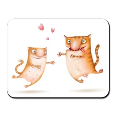 Коврик для мыши  Love