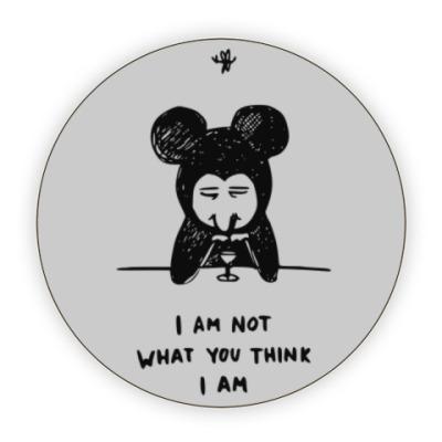Костер (подставка под кружку) Not a Mickey M