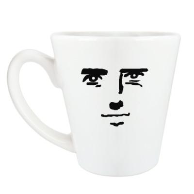 Чашка Латте наблюдатель