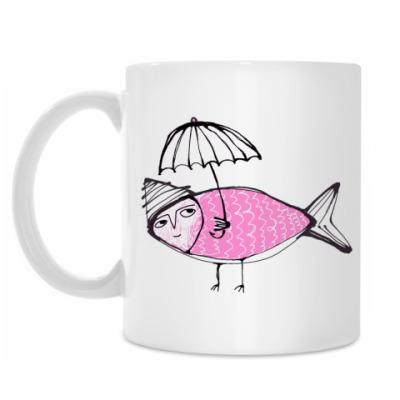 Кружка Pink fish