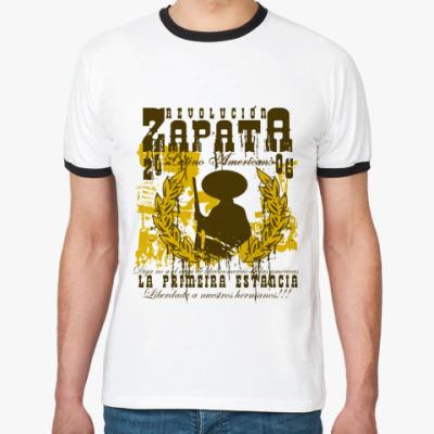 Футболка Ringer-T Cuba revolucion