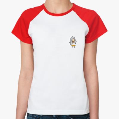 Женская футболка реглан Loveletter