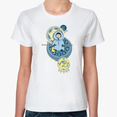 Классическая футболка чукотский пионер