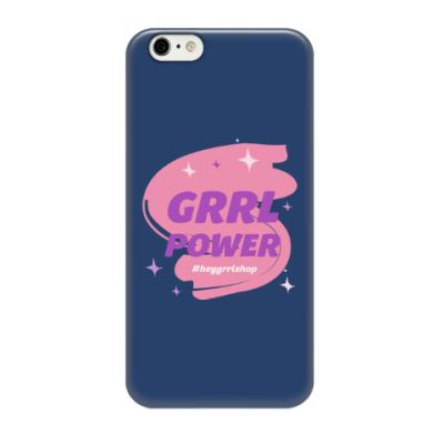Чехол для iPhone 6/6s Grrl Power / iPhone