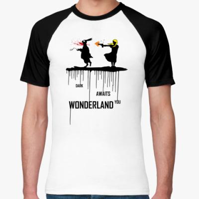 Футболка реглан Dark Wonderland