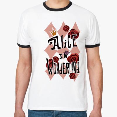 Футболка Ringer-T    Alice