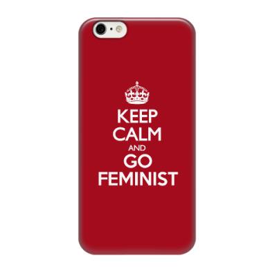 Чехол для iPhone 6/6s Go feminist