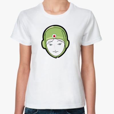 Классическая футболка Танкист