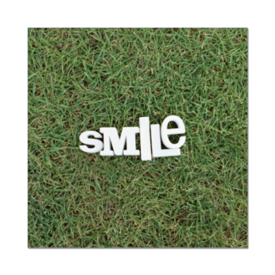 Наклейка (стикер) SMILE