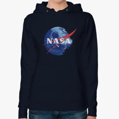 Женская толстовка худи NASA DS