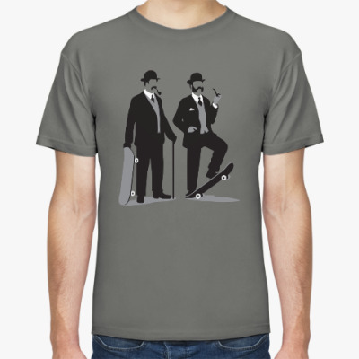 Футболка Мужская футболка Stedman, серая