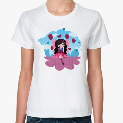 Классическая футболка  Феечка