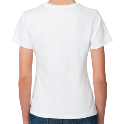 Fuck Жен футболка
