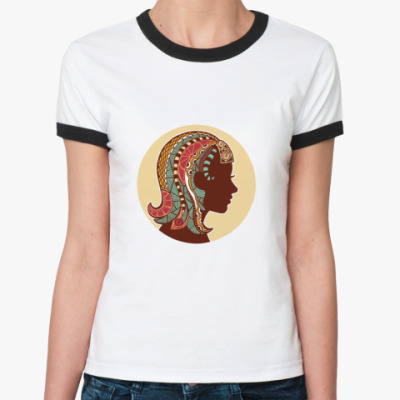 Женская футболка Ringer-T   Дева