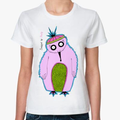 Классическая футболка 'Пингвин'