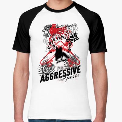 Футболка реглан Aggressive