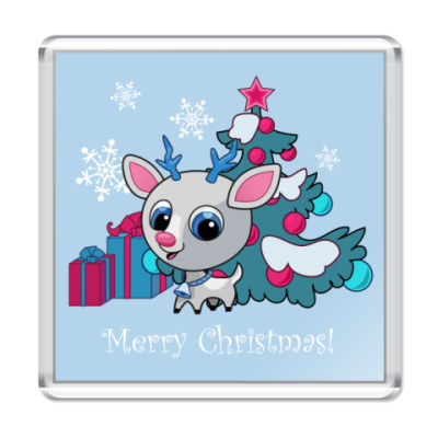 Магнит  С Рождеством