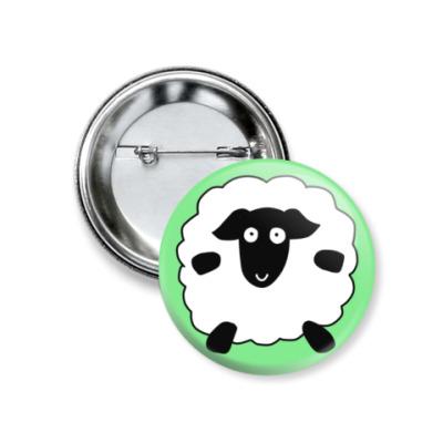 Значок 37мм Sheep