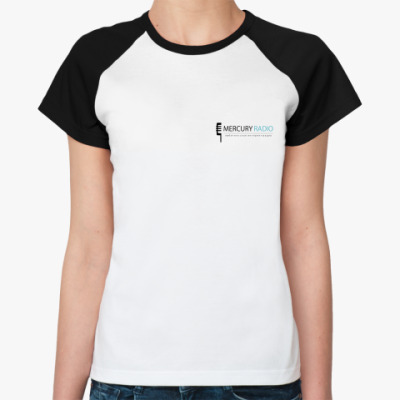 Женская футболка реглан M.R. Фут.