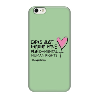 Чехол для iPhone 6/6s Just Wanna Have / iPhone