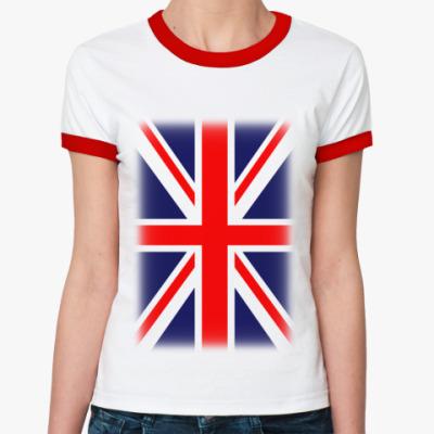Женская футболка Ringer-T Великобритания