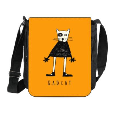 Сумка на плечо (мини-планшет) Bad Cat