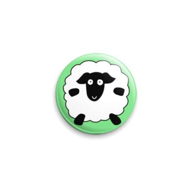 Значок 25мм Sheep