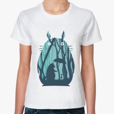 Классическая футболка Амигуруми Тоторо Аниме