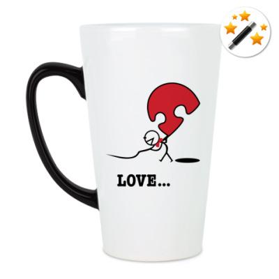 Кружка-хамелеон Парная кружка для влюблённых