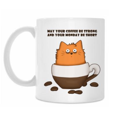Кружка Кофейный кот