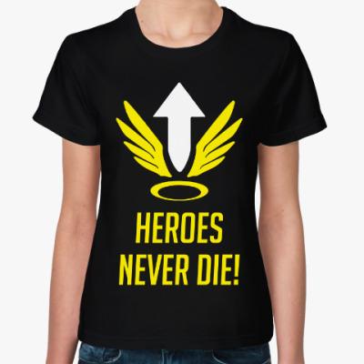 Женская футболка  Overwatch Mercy