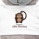 Прикольная обезьянка. Little Monkey Design