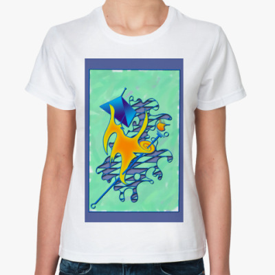 Классическая футболка Непросто