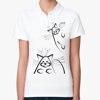 Женская рубашка поло Fat cat