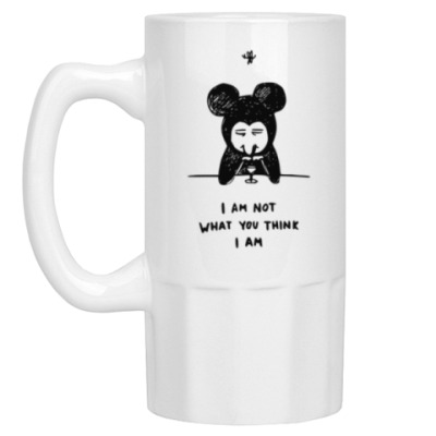 Пивная кружка Not a Mickey M