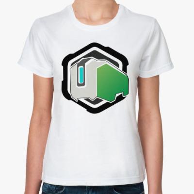 Классическая футболка Overwatch Bastion