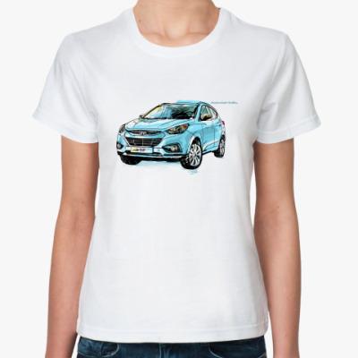 Классическая футболка Жен. футболка  ix35 РГ