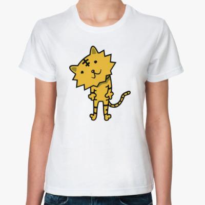 Классическая футболка 'Тигренок'