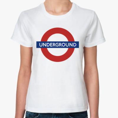 Классическая футболка Underground
