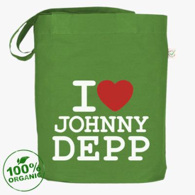 Сумка   I love Johnny Depp