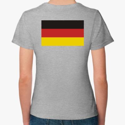 Женская футболка Германия