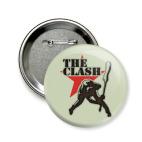 Значок 58 мм The Clash