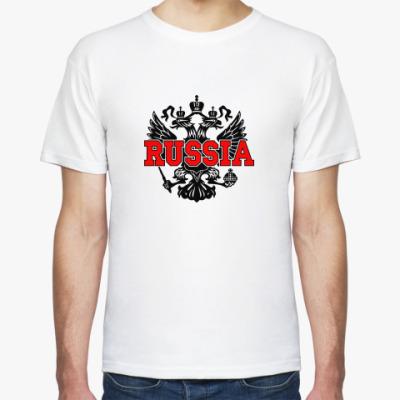 Футболка Russia