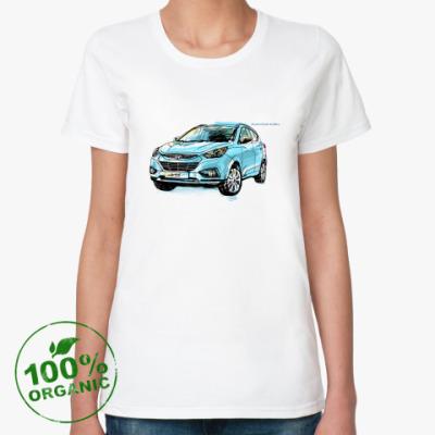 Женская футболка из органик-хлопка  органик (жен) ix35 РГ