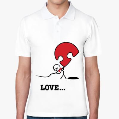 Рубашка поло Парная футболка для влюблённых