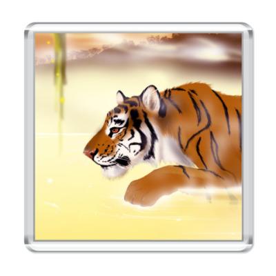 Магнит тигр