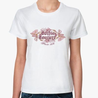 Классическая футболка Gothic