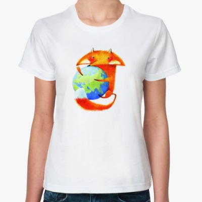 Классическая футболка  Mozilla.Россия