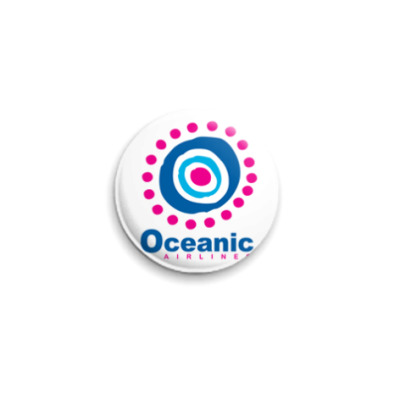 Значок 25мм  OCEANIC25 мм