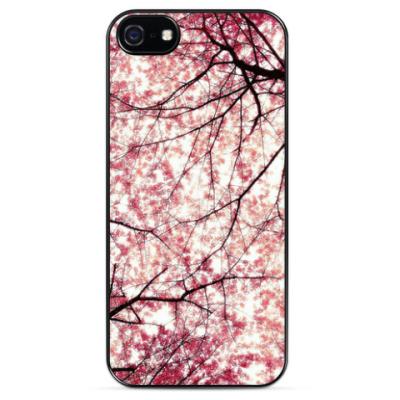 Чехол для iPhone Цветущий сад